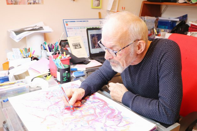 [Rencontre] Près de Rouen, Patrick Pels dessine au stylo à bille