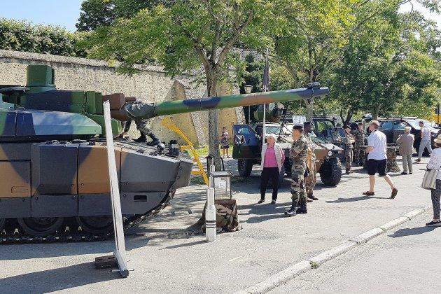 Alençon: hommage sur les traces de la 2e DB du général Leclerc
