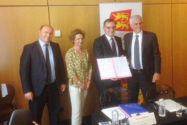 Un accord pour conforter l'excellence de la recherche normande