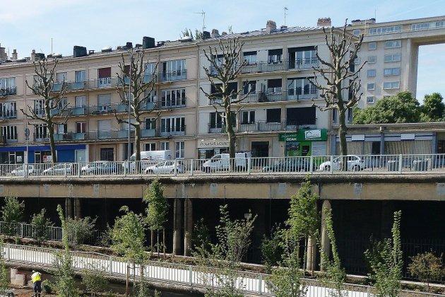 Trois mois de travaux sur la trémie ferroviaire rive gauche à Rouen