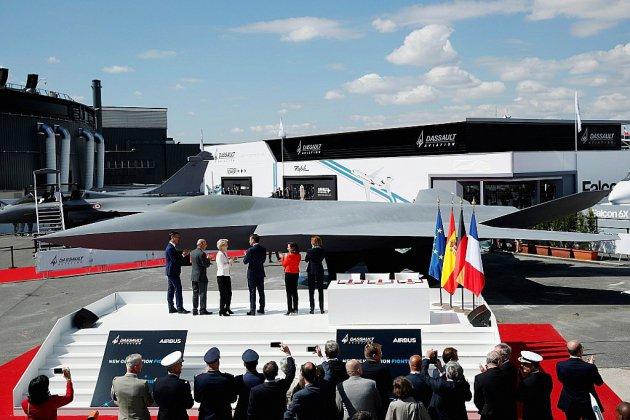 Paris et Berlin concrétisent avec l'Espagne le lancement de l'avion de combat du futur