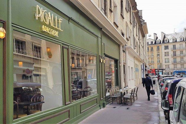 Au Pigalle Brasserie, plats savoureux et déco parisienne