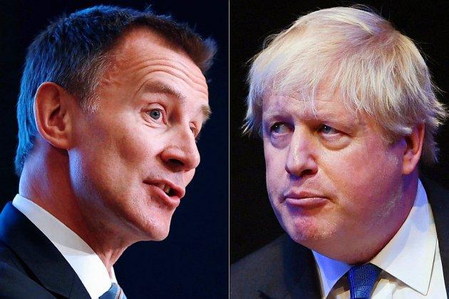 La bataille entre Jeremy Hunt et Boris Johnson pour Downing Street commence