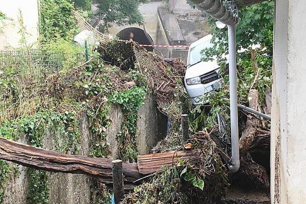 Orages dans le Calvados: pas de blessés, mais de gros dégâts