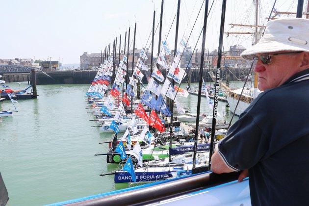 Dieppe a vibré pour l'arrivée de la 50e Solitaire du Figaro