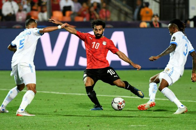 CAN-2019: avec Salah buteur, l'Egypte en huitièmes