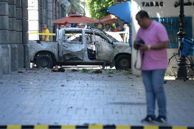 Tunis: 4 blessés dans un 2e attentat suicide contre la police