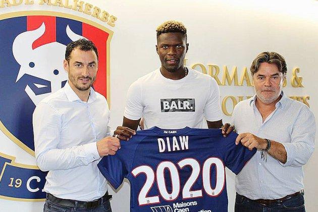 Football (Ligue 2): Pape Djibril Diaw, nouveau défenseur du SM Caen