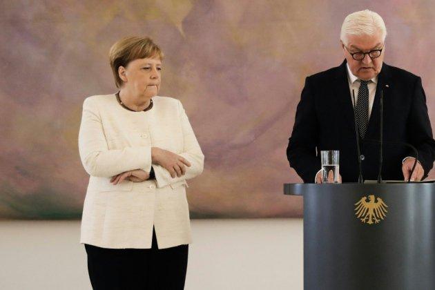 Merkel suscite l'inquiétude après une nouvelle crise de tremblements