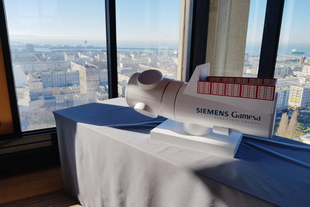 Usine d'éoliennes au Havre: un accord sur le financement