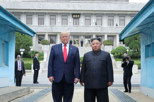 "La Corée du Nord salue la visite ""extraordinaire"" de Trump"