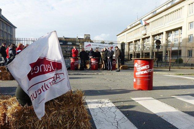 Manifestation agricole nationale: les Manchois mobilisés
