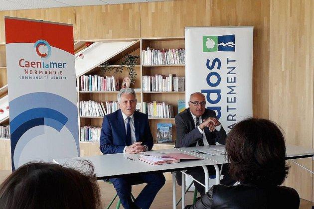 Offre numérique : Le département et Caen la mer s'unissent