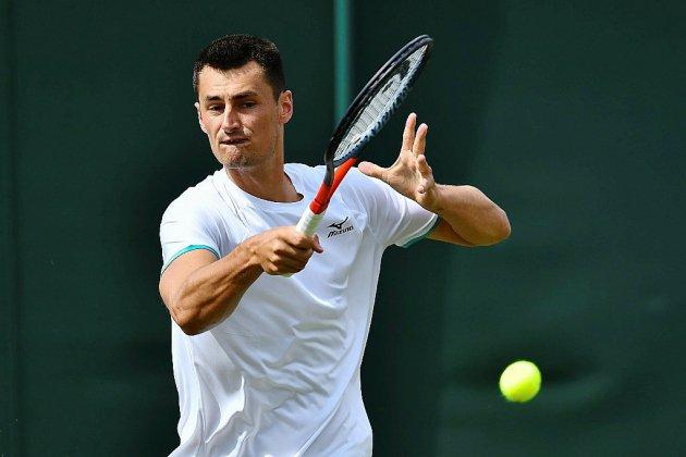 Tennis: 50 000 euros d'amende pour Bernard Tomic pour non-combativité à Wimbledon