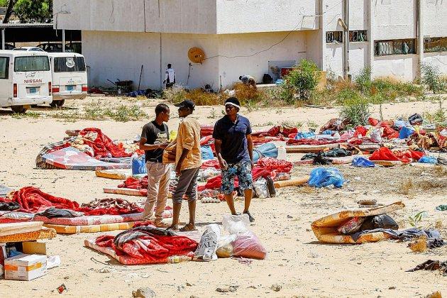 Hors Normandie. Libye: 300 migrants toujours détenus dans un centre de migrants théâtre d'un carnage
