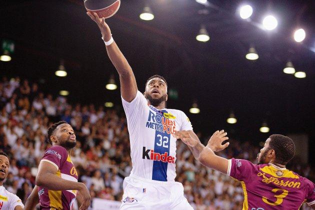 Basket: Zimmy Nwogbo poursuit l'aventure au Rouen Métropole Basket.