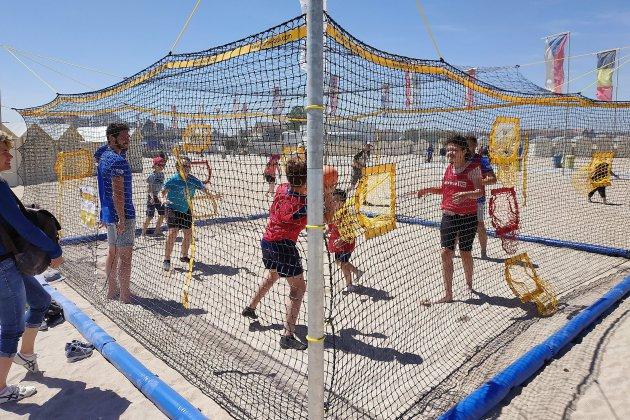 Du sport sur la plage pour les personnes en situation de handicap