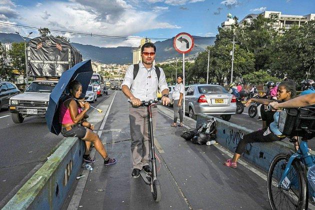 Les trottinettes électriques s'engouffrent dans le chaos de la circulation latino-américaine