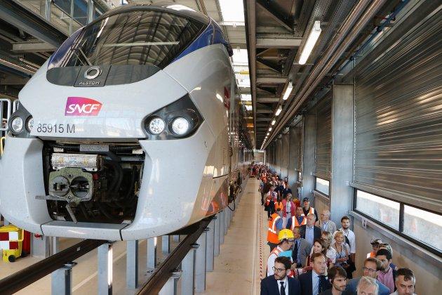 Normandie : le nouveau technicentre SNCF en partie opérationnel