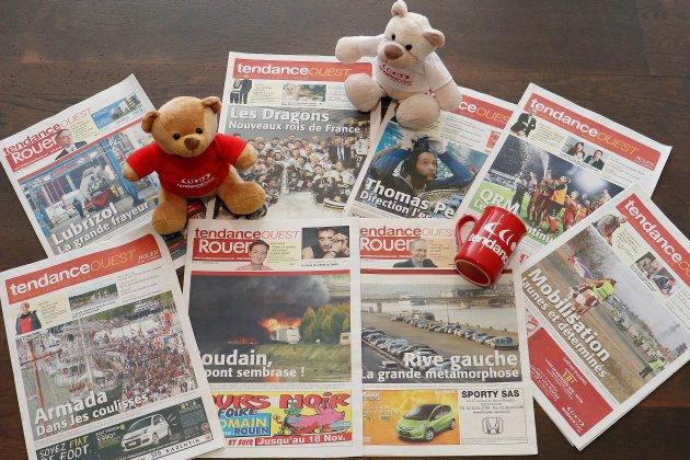 Votre hebdomadaire gratuit Tendance Ouest Rouen fête son 400e numéro