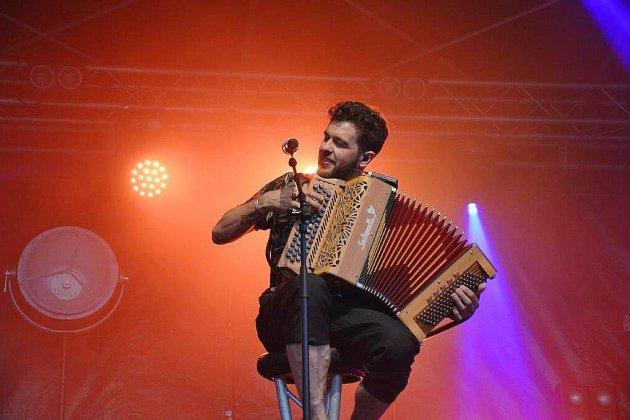 Carentan a vibré avec Claudio Capeo