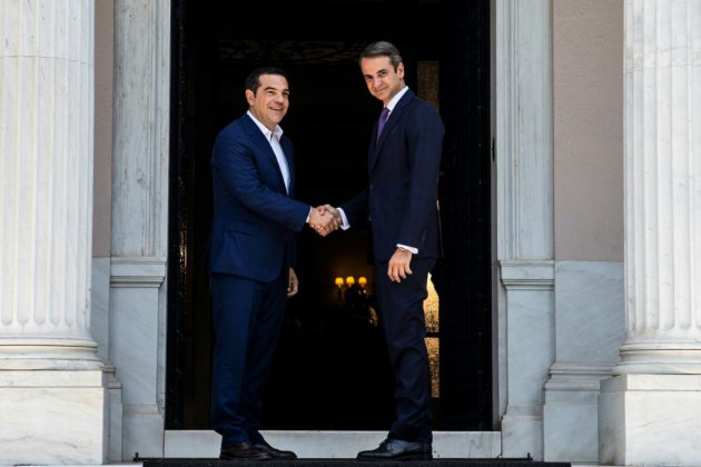 Kyriakos Mitsotakis investi Premier ministre dans une Grèce en soif de renouveau