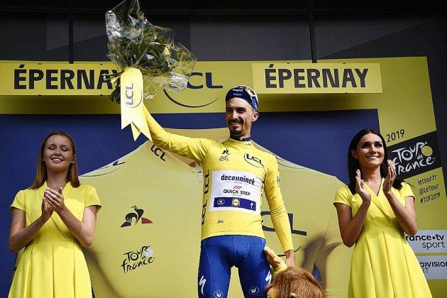 Tour de France: Champagne pour Alaphilippe!