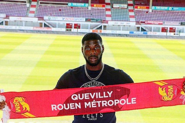 Football: un nouvel attaquant au Quevilly Rouen Métropole