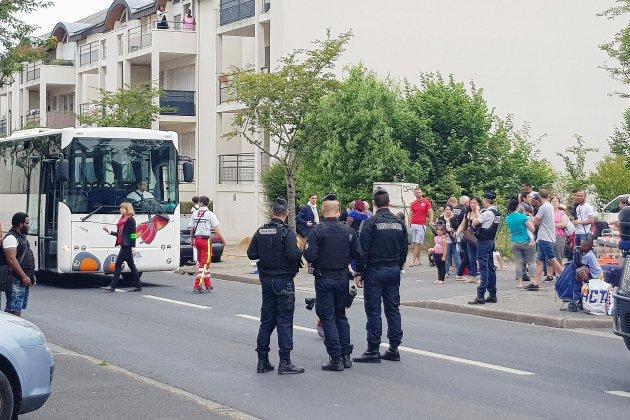 Plus de quatre-vingts personnes expulsées d'un squat à Caen