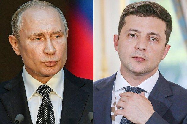Poutine et Zelensky discutent du conflit en Ukraine lors d'un premier échange téléphonique