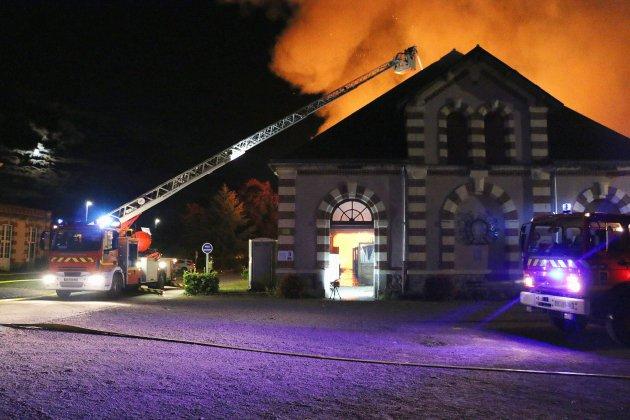 Saint-Lô. Incendie du Haras de Saint-Lô: une cagnotte pour reconstruire le toit