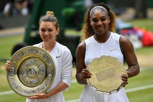 Wimbledon: Halep l'emporte, Williams rate encore une fois le record