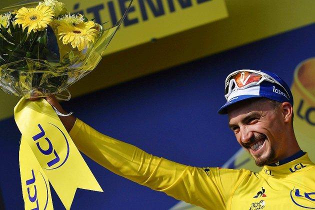Tour de France: le feu d'artifice pour Alaphilippe