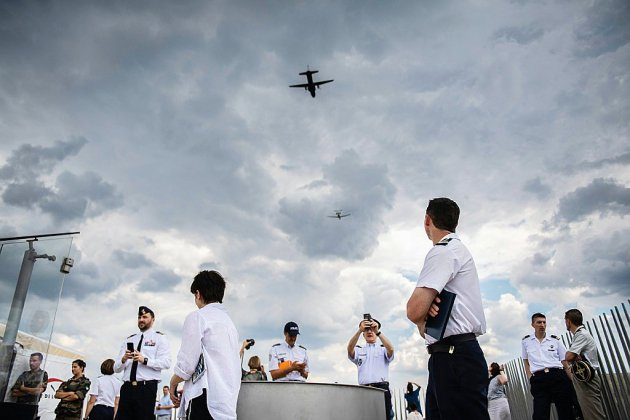 La coopération militaire européenne à l'honneur au défilé du 14 juillet