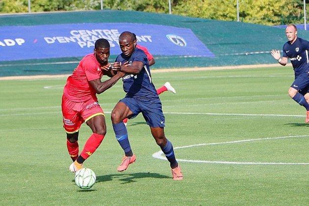 Football: Quevilly Rouen Métropole s'incline face au Paris FC