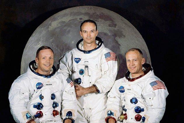 Les astronautes d'Apollo 11 ont décollé il y a 50 ans