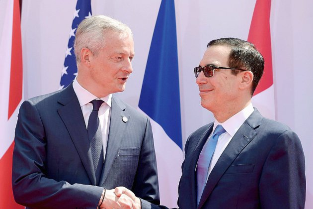 Le G7 Finances à la recherche d'un consensus sur la taxation du numérique