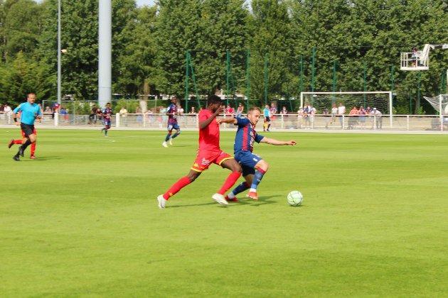 Le Stade Malherbe tenu en échec par Quevilly Rouen Métropole