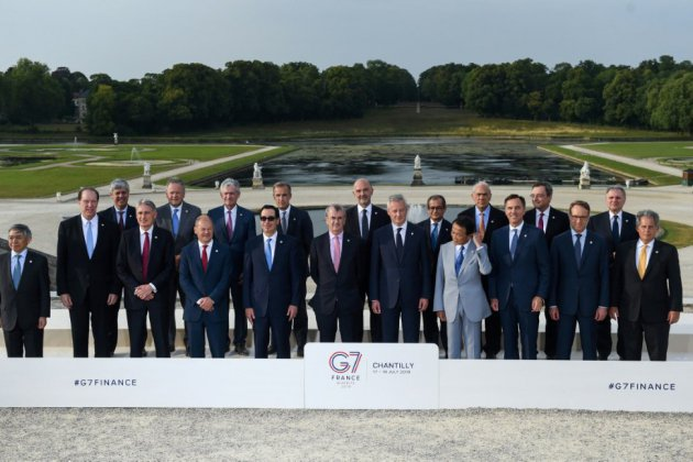 Taxation du numérique: le G7 Finances trouve un consensus ouvrant la voie à un accord international