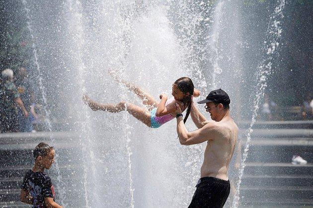 L'Est américain toujours accablé de chaleur, la fin de la canicule en vue