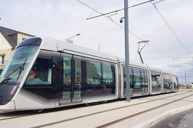 Tramway de Caen: les routes sont bloquées pour son arrivée