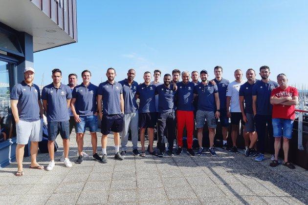 Reprise de l'entraînement pour la JS Cherbourg Manche Handball