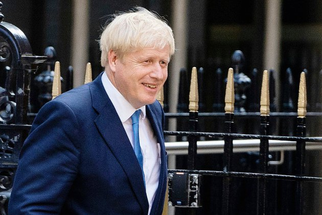 Grande-Bretagne: Johnson prend possession du 10, Downing Street