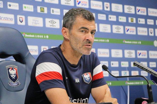"""SM Caen: Rui Almeida veut """"revenir avec les trois points de Sochaux"""""""