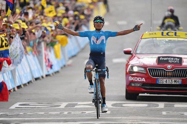 Tour de France: Quintana-Bernal, la fête colombienne
