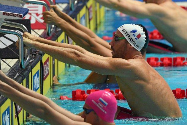 Mondiaux de natation: Stravius et Aubry avancent, Joly cale