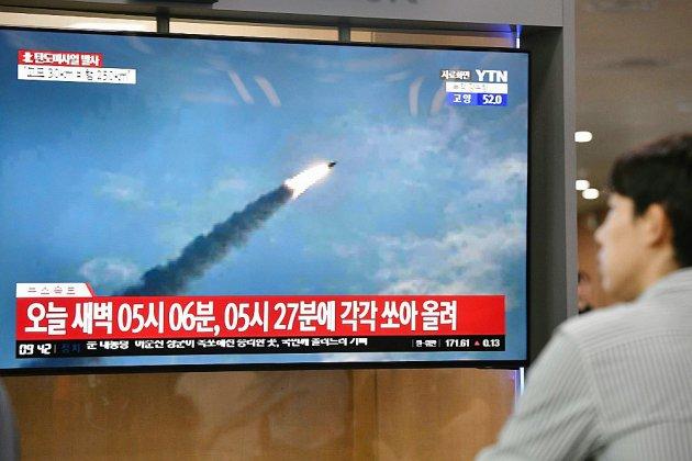 La Corée du Nord a tiré deux missiles balistiques, selon Séoul