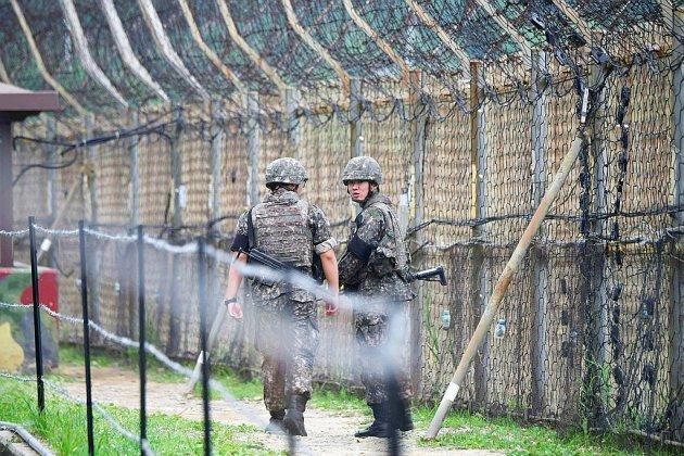 Un Nord-Coréen intercepté par le Sud après avoir franchi la frontière