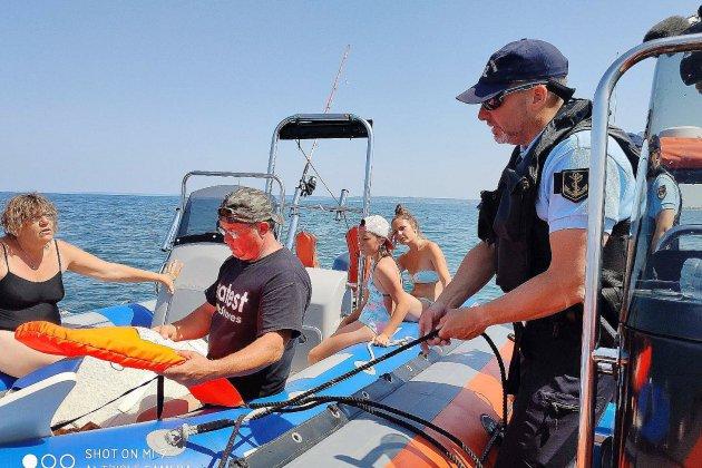 Sécurité en mer : trois bateaux interpellés sur le littoral calvadosien