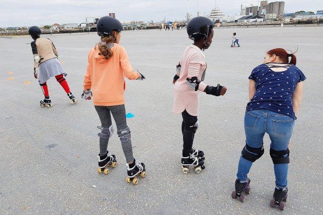 Le Havre: des initiations au roller pendant les vacances